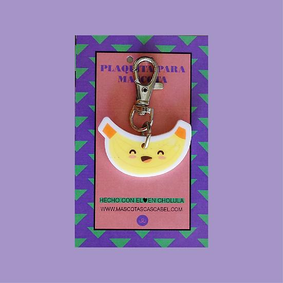 """Plaquita personalizada """"Plátano"""""""