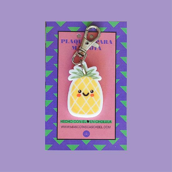 "Plaquita personalizada ""Piña"""
