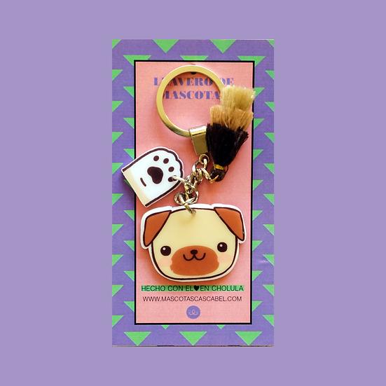 Llavero Cute Pug