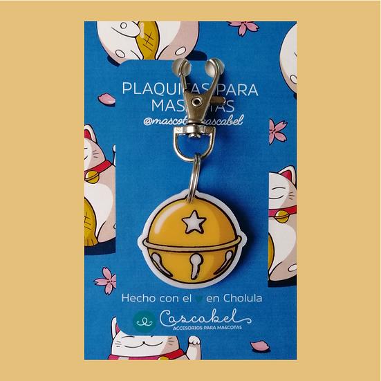 """Plaquita personalizada """"Cascabel"""""""