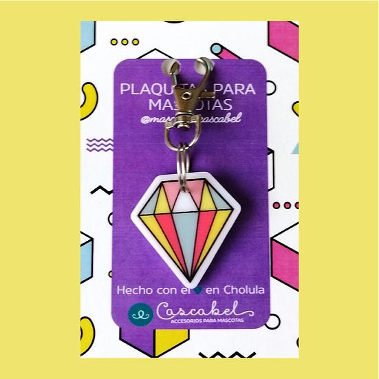 """Plaquita personalizada """"Diamante"""""""
