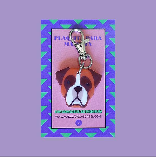 """Plaquita """"Boxer"""""""