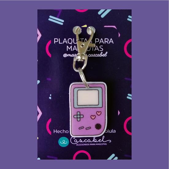 "Plaquita personalizada ""Game Boy"""