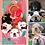 "Thumbnail: Llavero de tus Mascotas ""Cuatro Caritas"""