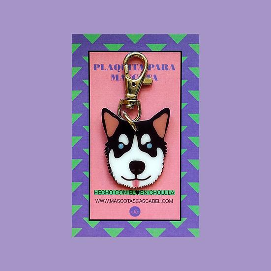 "Plaquita ""Alaska Malamute"""