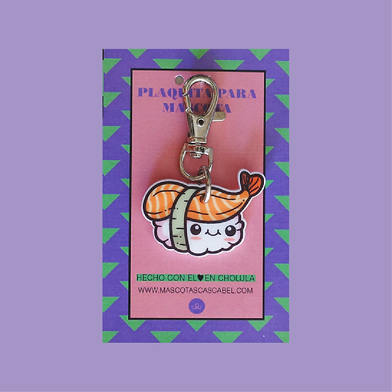 "Plaquita personalizada ""Sushi"""