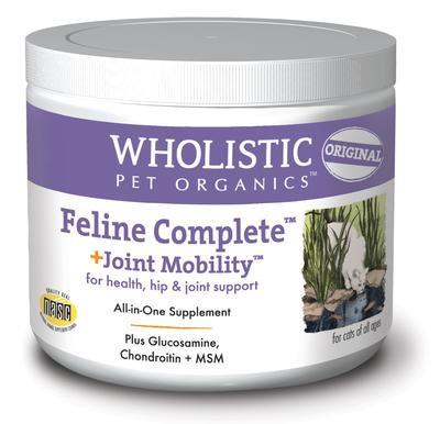 Wholistic Pet Organics Feline Complete + Joint Mobility 4 oz
