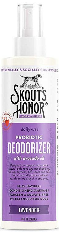 Skout's Honor Probiotic Deodorizer Lavender 8 fl.oz
