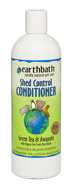 Earthbath Shed Control Conditioner 16 oz