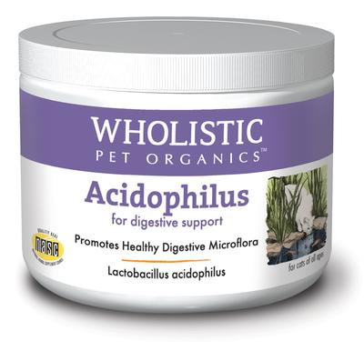 Wholistic Pet Organics Feline Acidophilus 2 oz