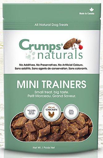 Crumps Semi-Moist Mini Trainers Chicken 4.2 oz