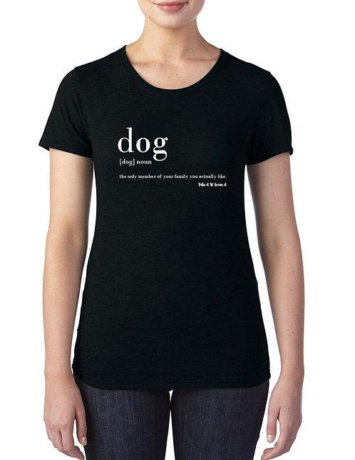 Take it 'N' Leave it Dog Definition Tee