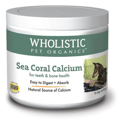 Wholistic Pet Organics Sea Coral Calcium 3 oz