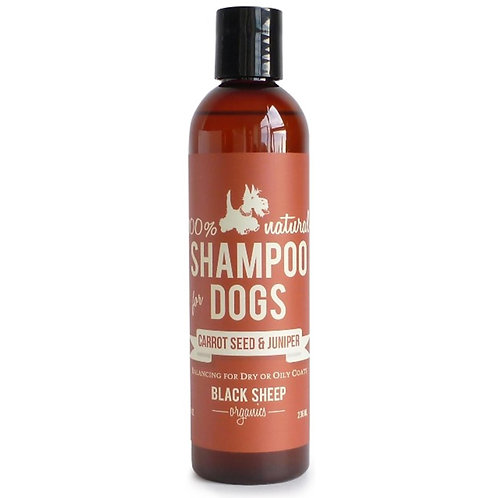 Black Sheep Organics Carrot Seed & Juniper Organic Shampoo 8 oz