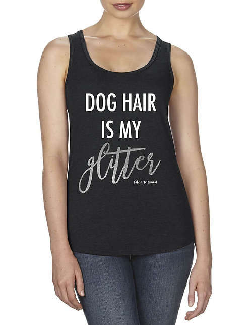 Take it 'N' Leave it Dog Glitter Tank