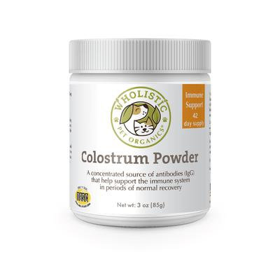 Wholistic Pet Organics Colostrum Powder 3 oz