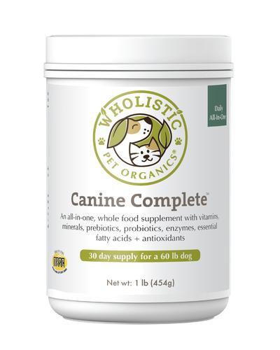Wholistic Pet Organics Canine Complete 8 oz