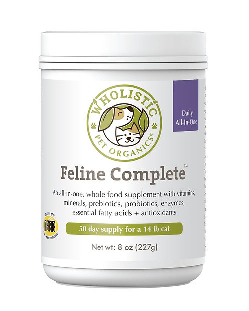 Wholistic Pet Organics Feline Complete 4 oz
