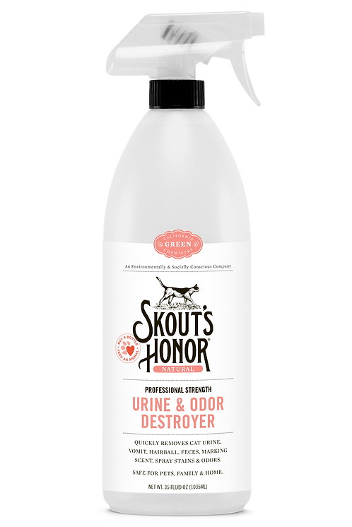 Skout's Honor Cat Urine & Odor Destroyer 35 oz