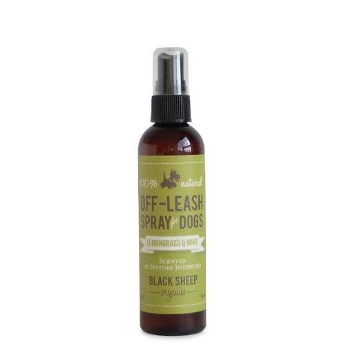 Black Sheep Organics Lemongrass & Mint Organic Off-Leash Spray 4 oz