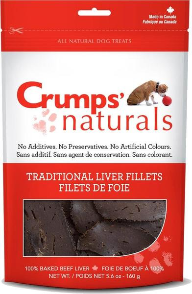 Crumps Liver Fillets 2.4 oz