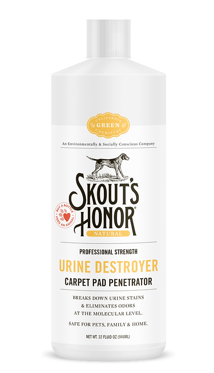 Skout's Honor Urine Destroyer Carpet Pad Penetrator 32 oz