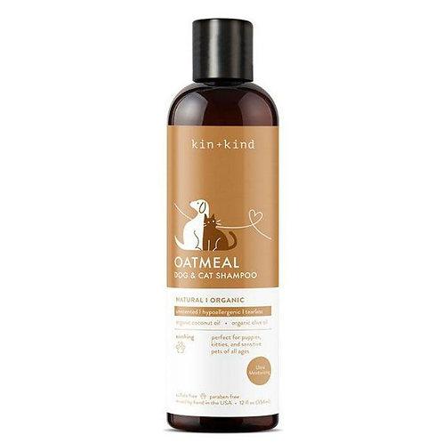 Kin + Kind Oatmeal (Unscented Shampoo) 12 fl. oz.