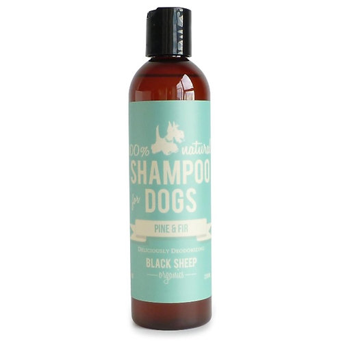 Black Sheep Organics Pine & Fir Organic Shampoo 8 oz