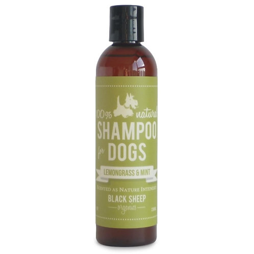 Black Sheep Organics Lemongrass & Mint Organic Shampoo 8 oz