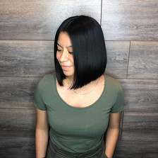 aura salon and spa straightening