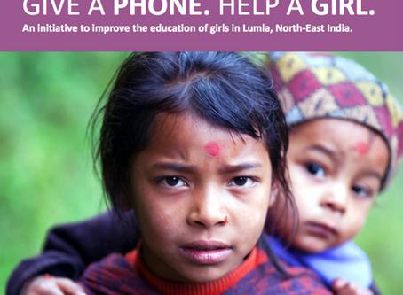 Give a Phone . Help a Girl
