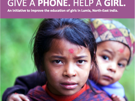 Give a Phone . Help a Girl