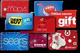 350 Retailer Gift Cards