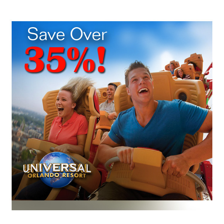 Discount Universal Studios