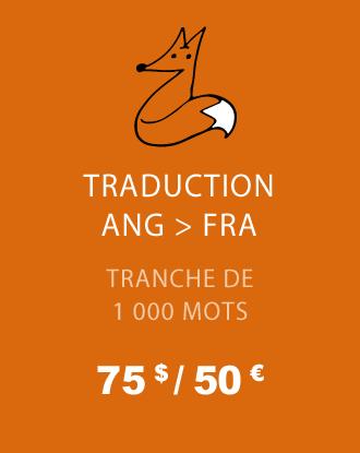 Traduction ANG - FRA