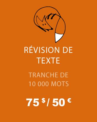Révision de texte