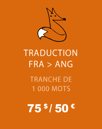 Traduction FRA - ANG