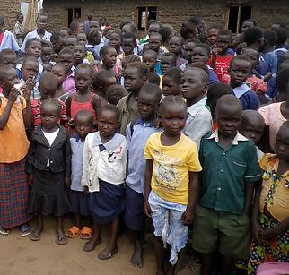 Gudele Primary School South Sudan, Christian Charity, Childern, students