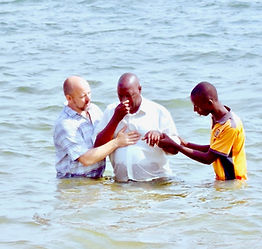 Baptism in Uganda, Mercy Partners Disciplship Program