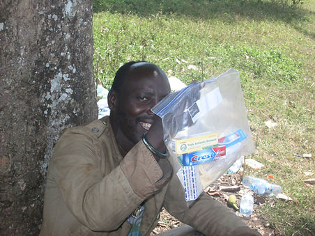Providing Personal Hygiene Kits for health during crisis in South Sudan, Uganda, Ethiopia, Keyna, Mercy Partners