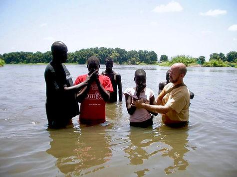 River Nile, Baptism, Christian, Evagelism, Charity