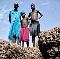 South Sudan, Water Spring, Childern, Africa, Tom Kilian, Mercy Partners