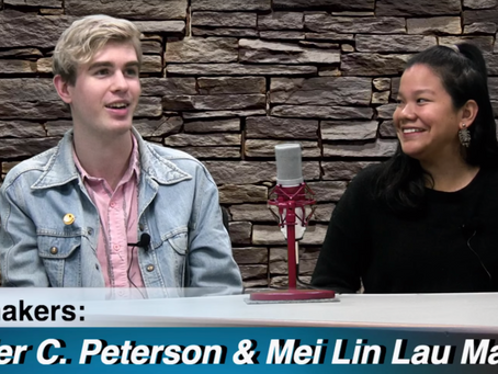 Interview: Tyler C. Peterson & Mei Lin Lau Mann on the Paul Stefan Show