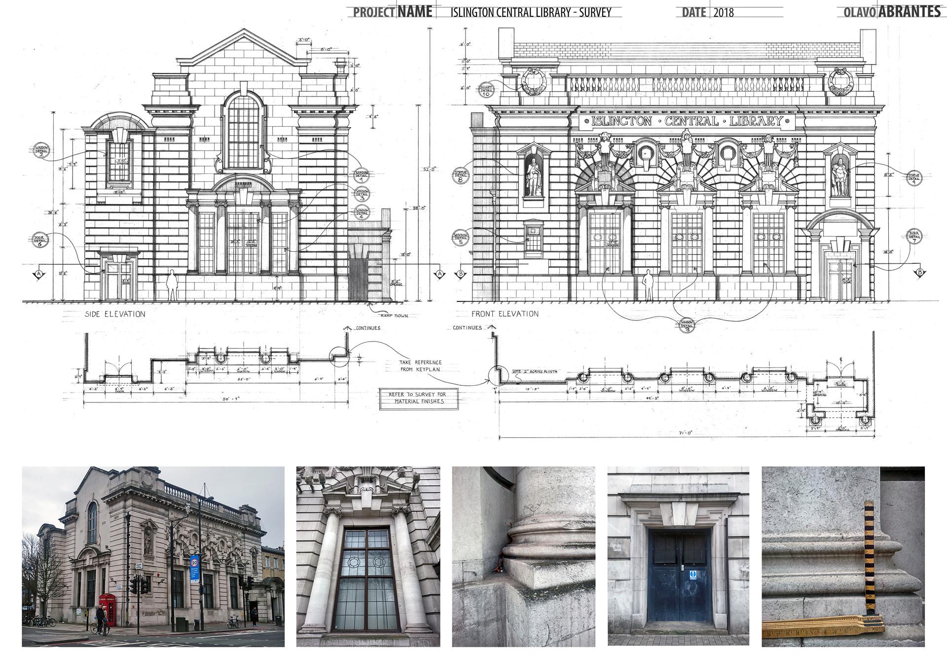 Islington Central Library - Survey