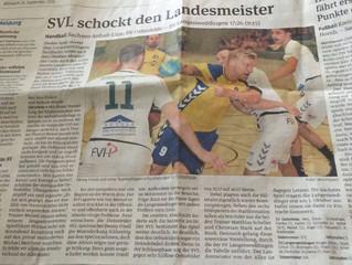 SVL schockt den Landesmeister