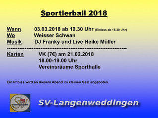 Sportlerball 03.03.2018