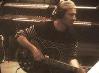 """Sphère studio 2016, j'enregistre sans doute des guitares sur """"Allumeuse""""."""