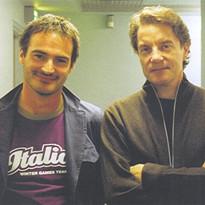 Avec Francis Cabrel, Tours 2004