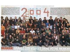 """Photo pour Paris-Match de Jean-Marie Perrier, il a voulu faire écho à celle des année soixante. Fidéle à mon grand sens du réseau, j'ai dit """"bonjour"""" et je n'ai parlé à personne. Comme à l'école le premier jour."""