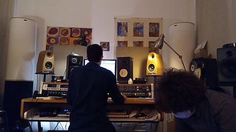 Sami Bouvet, Studios Ferber, Paris - Sept 2020